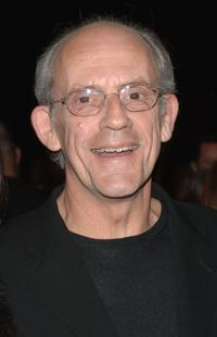 Christopher Lloyd at the SBIFF Modern Master Award for George Clooney.