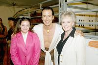 Christiana Triolo, Frederic Pignon and June Lockhart at the opening night of