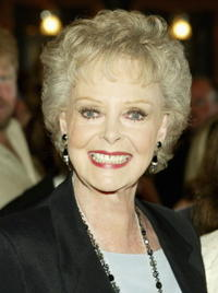 June Lockhart at the Los Angeles opening of