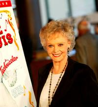 June Lockhart at the Warner Home Video's 60th Anniversary DVD release reception and screening of