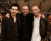 Kais Nashef, Hany Abu-Assad and Ali Suliman at the Film Independent's 2006 Independent Spirit Awards.
