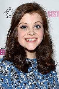Georgie Henley at the NY premiere of