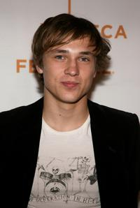 William Moseley at the premiere of