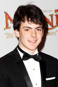 Skandar Keynes at the world premiere of