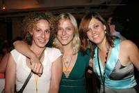 Rachel Grady, Jenna Rocher and Heidi Ewing at the Silverdocs AFI/Discovery Channel Documentary Festival.