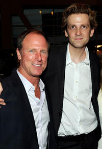 Louis Herthum and director Daniel Stramm at the California premiere of