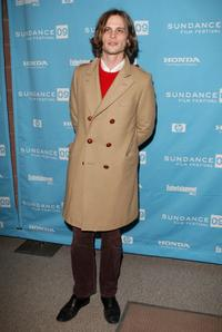 Matthew Gray Gubler at the premiere of