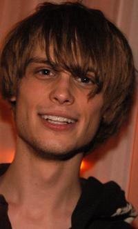 Matthew Gray Gubler at the Christopher Deane after party.