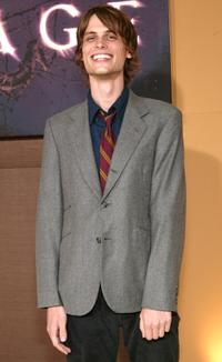 Matthew Gray Gubler at the New York premiere of