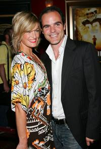 Michael Kelly and Guest at the premiere of