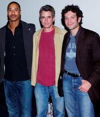 Brian J. White, Dermot Mulroney and Tyrone Giordano at the screening Series of