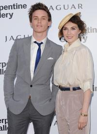 Eddie Redmayne and Carice van Houten at the Serpentine Gallery Summer party.