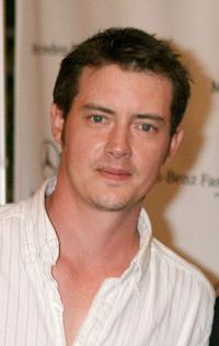 Jason London at the Mercedes-Benz Fashion Week.