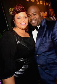Tamela Mann and David Mann at the 28th Annual Stellar Awards in Tennessee.