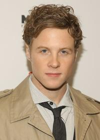 Ashton Holmes at the New York screening of