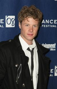 Ashton Holmes at the premiere of