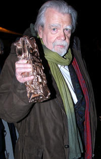 Michel Lonsdale at the 36th Cesar Film Awards in France.