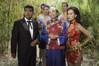 Diedrich Bader, James Hong, George Lopez, Maggie Q and Brandon Molale in