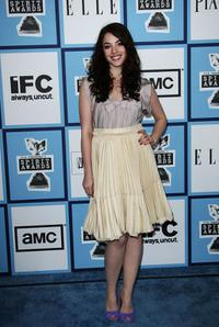 Olivia Thirlby at the 2008 Film Independent's Spirit Awards.