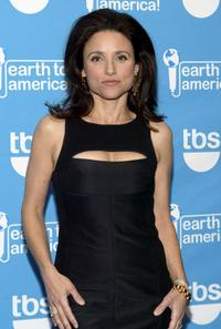 Julia Louis-Dreyfus at the taping of