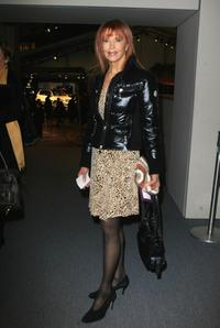 Tina Louise at the fashion tents during the Mercedes-Benz Fashion Week Fall 2008.