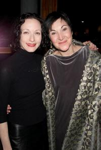 Bebe Neuwirth and Robin Bartlett at the opening night party of