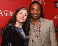 Robin Bartlett and Billy Porter at the Opening Night party of