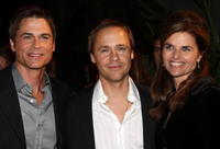 Rob Lowe, Chad Lowe and Maria Shriver at the Hollywood Entertainment Museum's Hollywood Legacy Awards XI.