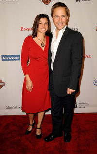 Kim Painter and Chad Lowe at the Hollywood Entertainment Museum's Hollywood Legacy Awards XI.