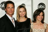 Rob Lowe, Calista Flockhart and Sally Field at the ABC Upfront presentation at Lincoln Center.