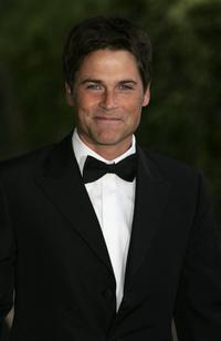 Rob Lowe at the fundraising event