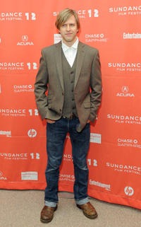 Jayce Bartok at the premiere of