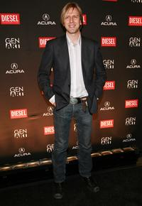 Jayce Bartok at the 13th annual Gen Art Film Festival launch party.