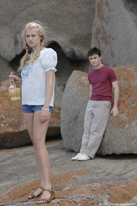 Teresa Palmer and Daniel Radcliffe in