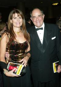 Laurence Luckinbill and his wife Lucie Arnez at the 2003 Tony Awards Dinner and After-party.