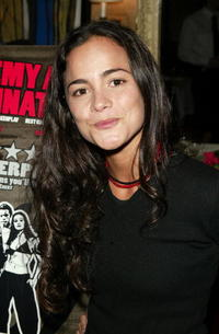 Alice Braga at a lunch hosted by Miramax for the movie