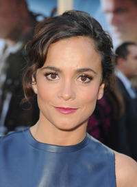 Alice Braga at the California premiere of