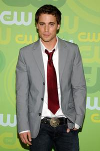 Dustin Milligan at the CW Network's Upfront.