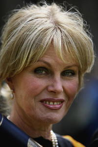 Joanna Lumley at the St Andrews University where she received a honorary degree.