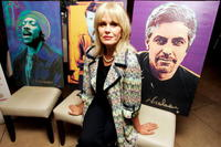 Joanna Lumley poses for a photograph at the launch of