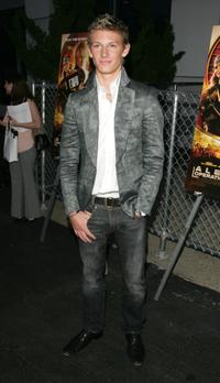 Alex Pettyfer at the premiere of