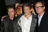 Ewan McGregor, Alex Pettyfer and Bill Nighy at the premiere of