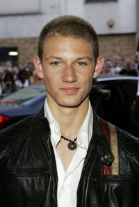 Alex Pettyfer at the UK premiere of