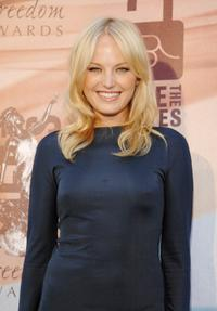 Malin Akerman at the 2008 Freedom Awards.