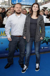 Axel Stein and Lena Meyer-Landrut at the premiere of