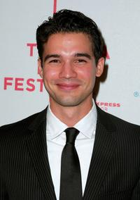 Steven Strait at the premiere of