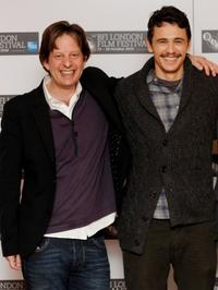 Christian Colson and James Franco at the photocall for