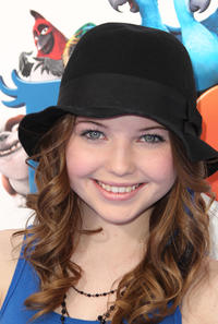 Sammi Hanratty at the California premiere of