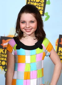 Sammi Hanratty at the Nickelodeon's 2008 Kids' Choice Awards.