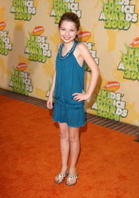 Sammi Hanratty at the Nickelodeon's 2009 Kids' Choice Awards.